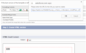 creating a hyperlink in an email template salesforce stack exchange