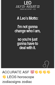 Leo Zodiac Memes - 25 best memes about leo horoscope leo horoscope memes