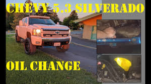 how to change the oil in a 2008 silverado 5 3 afm youtube