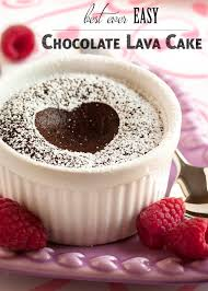 best ever easy chocolate lava cakes recipe more easy chocolate
