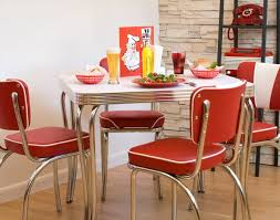 Kitchen Furniture Edmonton Chair Awesome Retro Kitchen Table And Chairs Sets Retro Chrome