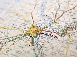 map of bordeaux map of bordeaux in stock photo picture and royalty free