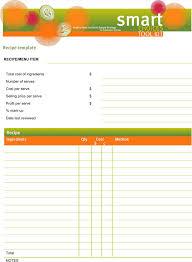 word recipe templates download free u0026 premium templates forms