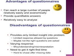 questionnaire design questionnaire designing in a research process