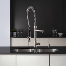 Kitchen Faucet Chrome Kitchen Make Your Kitchen Look Modern Using Kraus Faucets