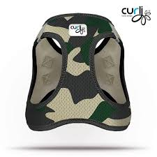 my curli curli dog harness air mesh camouflage petsonline