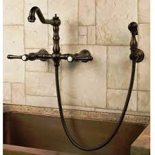 wall mount kitchen faucet with sprayer best wall mount kitchen faucet for and style ideas