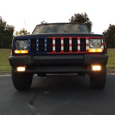 jeep grill icon flag grill insert subdued by dirty acres on fb jeep things