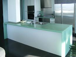 Glass Kitchen Countertops Kitchen Island U0026 Carts Amazing Most Popular Green Modern Stylish