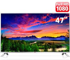 """Top Smart TV LED 47"""" Full HD LG 47LB5800 com Função Torcida, Conversor  @VD68"""