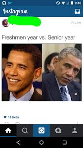 Senior Year Meme - freshman year vs senior year rebrn com