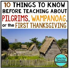 pilgrims the wanoag and the thanksgiving printables