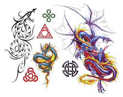 design for tatoos fantasy dragon tattoo designs