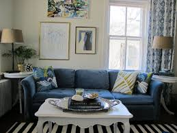 Light Blue Living Room by Living Room Small Living Room Decoration With Navy Blue Sofa And