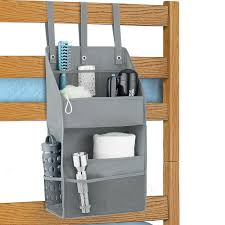 Bunk Bed Caddy Grey Bunk Bed Organizer The Container Store