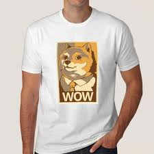 Doge Wow Meme - doge wow poster meme men s t shirt teez in