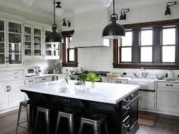 Two Color Kitchen Cabinet Ideas Kitchen Cabinets Two Color Paint Counter Granite Countertops
