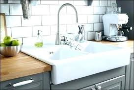 kohler farmhouse sink cleaning home depot cast iron sink farmhouse apron front cast iron in single