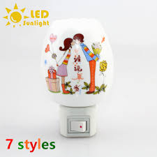 plug in projector night light eu us plug projection led night lights kids christmas gift baby
