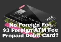 no fee prepaid debit cards this visa prepaid card has zero foreign transactions fees ahmed