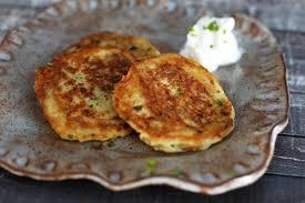 potato pancake grater potato pancakes with chives recipe