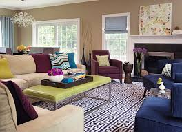 Purple Living Rooms Home Design Ideas - Purple living room decorating ideas