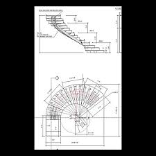 spiral stair dwg autocad drawing website of banenoon