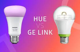 ge link light bulb philips hue vs ge link hue home lighting