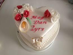 2nd year wedding anniversary two year wedding anniversary cake cake by polliecakes cakesdecor