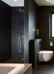 black and white bathroom design bathrooms simple modern black and white bathroom with recessed