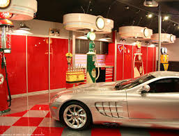 garage luxurious modern black silver garage interior design ideas