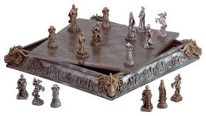medieval chess set traditional board games and card games by