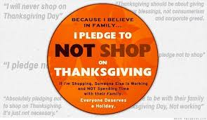 give thanks not money this thanksgiving day