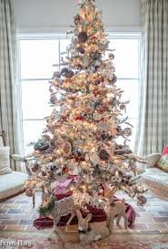 country christmas tree country christmas decor home tour part 1 haus