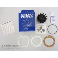 volvo penta sea water cooling pump impeller kit new oem 4 3l 5 0l
