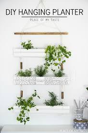 diy gutter hanging planter