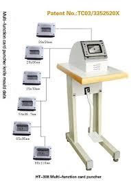 Card Making Equipment - foot pushing card die cutter ht 306 hengtong card making