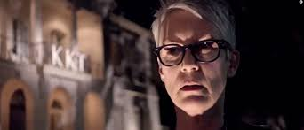 jamie lee curtis returns to horror in scream queens watch the