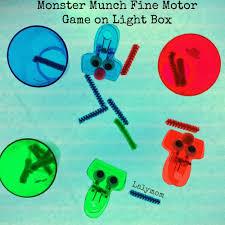 Halloween Monster Munch Monster Munch Fine Motor Game For Kids Fine Motor Fridays Lalymom