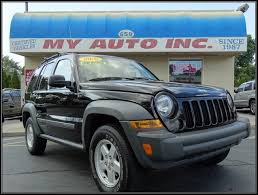 black 2005 jeep liberty used black four wheel drive 2005 jeep liberty with 6 cylinders