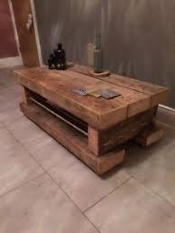 Industrial Rustic Coffee Table Industrial Coffee Table Ebay