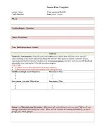 4 free lesson plan templates teknoswitch for middle 624