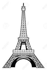eiffel tower drawing pencil art drawing