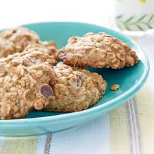 thanksgiving chocolate chip cookies banana oatmeal chocolate chip cookies recipe myrecipes