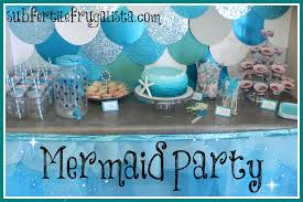 Music Party Theme Decorations Mermaid Birthday Party Youtube
