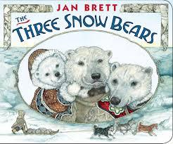 the three snow bears jan brett 9780399260094 books