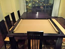 Home Design Ideas With Pool by Unique Pool Table Converts To Dining Table 27 For Your Home Design
