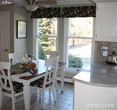 Kitchen Cabinet Valance by Remodelaholic From Oak To Beautiful White Kitchen Cabinets