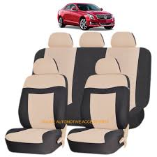 seat covers for cadillac srx beige elegance airbag compatible seat cover set for cadillac xlr