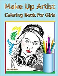 make up artist books make up artist coloring book for 36 beautiful women